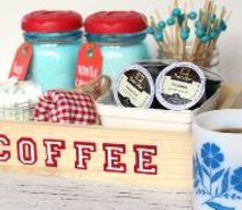 repurposed mason jars to clever coffee caddy, crafts, how to, mason jars, repurposing upcycling