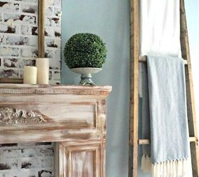 Decor wall ladder picture