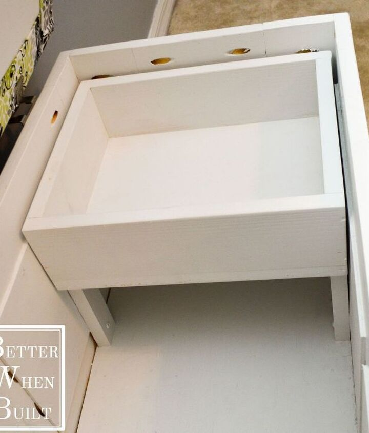 diy file storage bench, fireplaces mantels, home office, painted furniture, storage ideas, reupholster