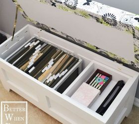Merveilleux Diy File Storage Bench, Fireplaces Mantels, Home Office, Painted Furniture,  Storage Ideas
