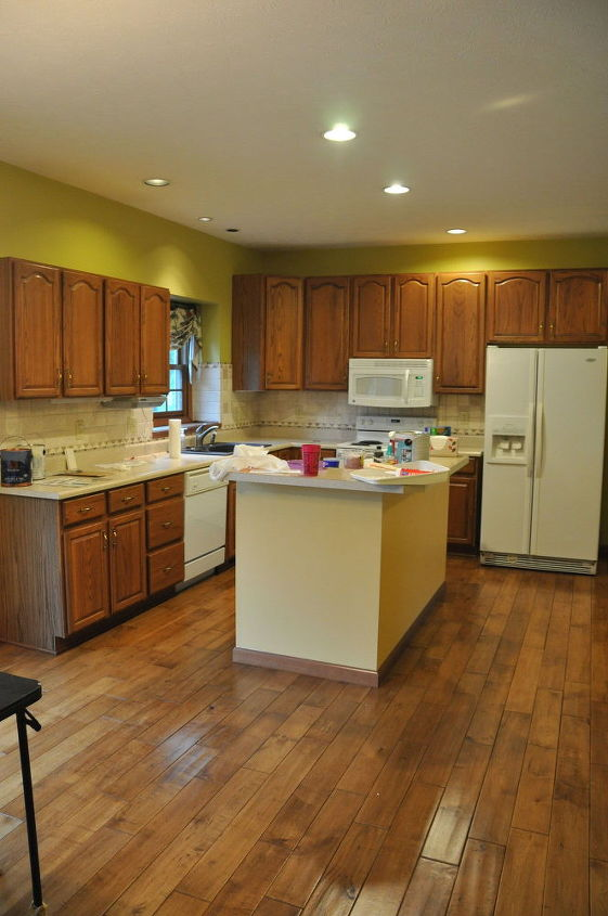 Oak Kitchen Makeover Cabinets Design Painting