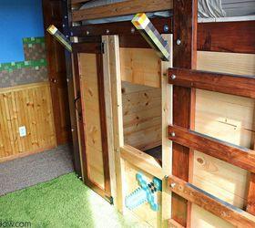 Diy Fort Bed For Children S Bedroom, Bedroom Ideas, Diy, How To,