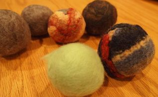 diy wool dryer balls, appliances, crafts, how to, repurposing upcycling