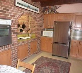Hidden Kitchen Finds New Life, Concrete Masonry, Countertops, Flooring,  Kitchen Cabinets,