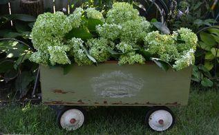 diy boxed wagon, diy, gardening, repurposing upcycling