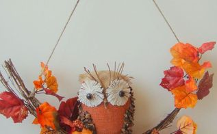 create an adorable owl using a recycle soap bottle, crafts, repurposing upcycling, seasonal holiday decor