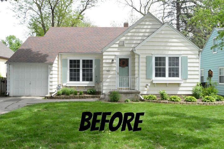 Transform your home exterior with nothing but paint hometalk House transformations exterior