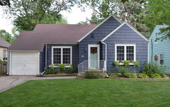 an exterior paint transformation, curb appeal, painting