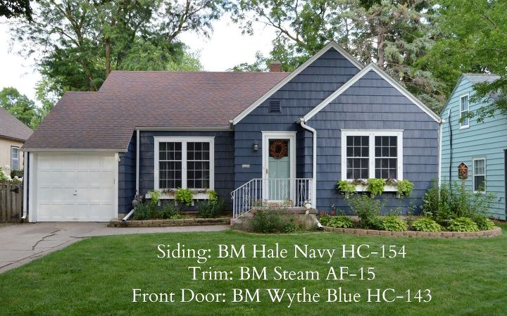 Beautiful Blue Exterior Paint Contemporary - Amazing House ...