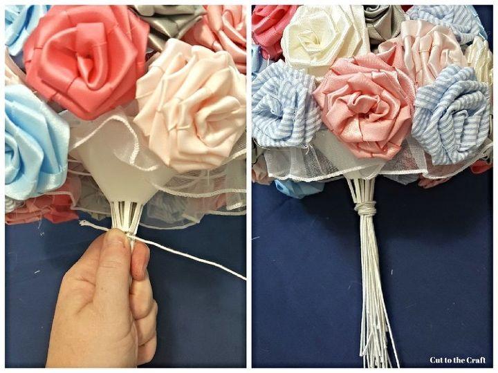 DIY Fabric Flower Bouquet! | Hometalk