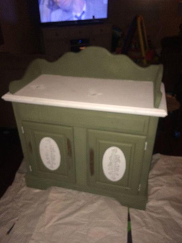 Repurposed Old Dry Sink Turned Bathroom Vanity Hometalk