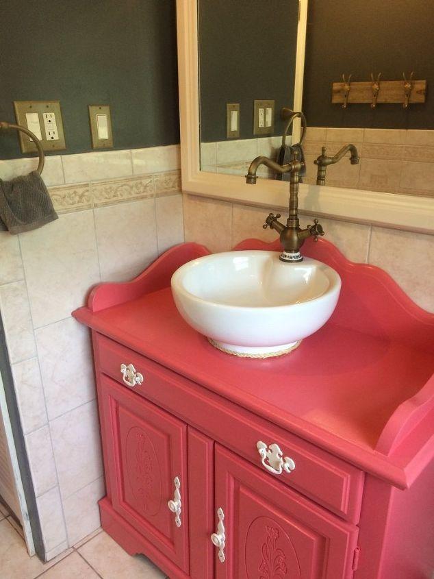 Repurposed Old Dry Sink Turned Bathroom Vanity Ideas How To Repurposing Upcycling
