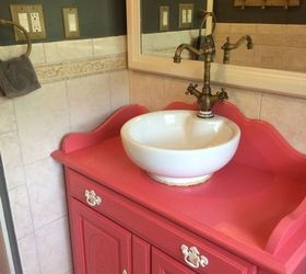 Genial Repurposed Old Dry Sink Turned Bathroom Vanity, Bathroom Ideas, How To,  Repurposing Upcycling
