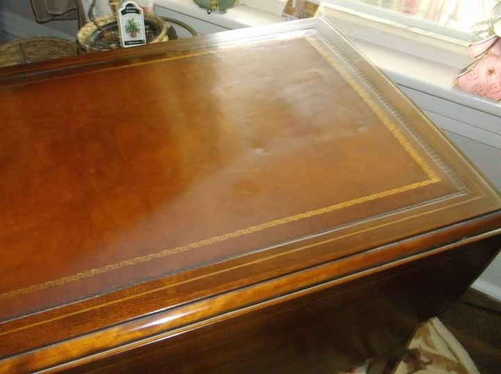 How Do I Clean A Leather Top On A Table Hometalk
