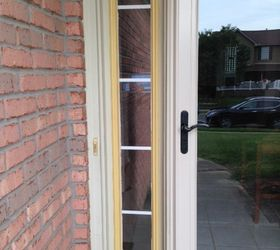 ... use on the door and panel or if I should consider using a different color - that might be too much outside the box. Open to any and all suggestions. & Advice on door plastic trim piece pease...   Hometalk