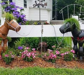 Where can I find instructions for terracotta flower pot horses