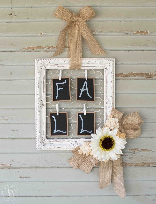 shabby chic fall wreath tutorial, crafts, how to, shabby chic, wreaths