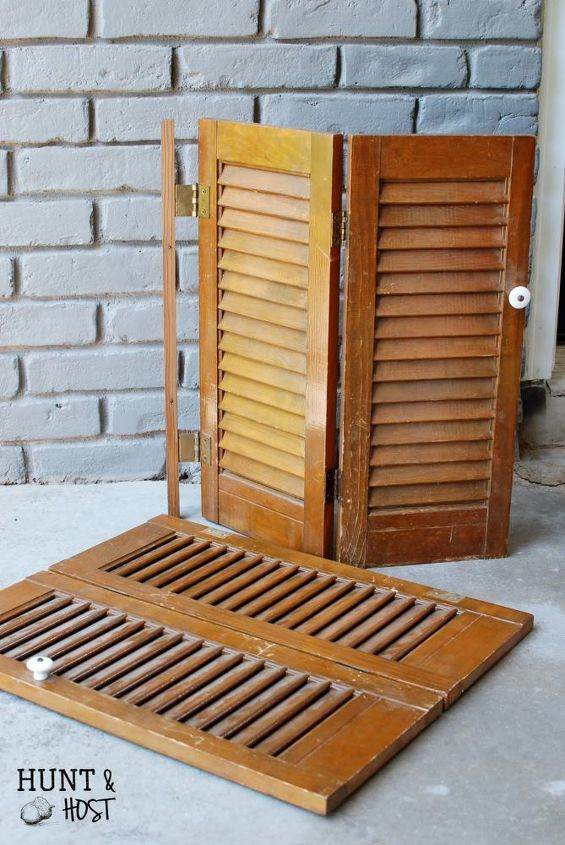 shutter makeover to do list, chalk paint, crafts, organizing, repurposing upcycling, wall decor
