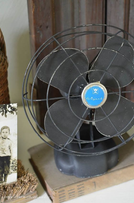 diy vintage fan makeover, chalk paint, how to, painting, repurposing upcycling