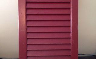 diy window shutter mail organization, diy, how to, organizing, repurposing upcycling