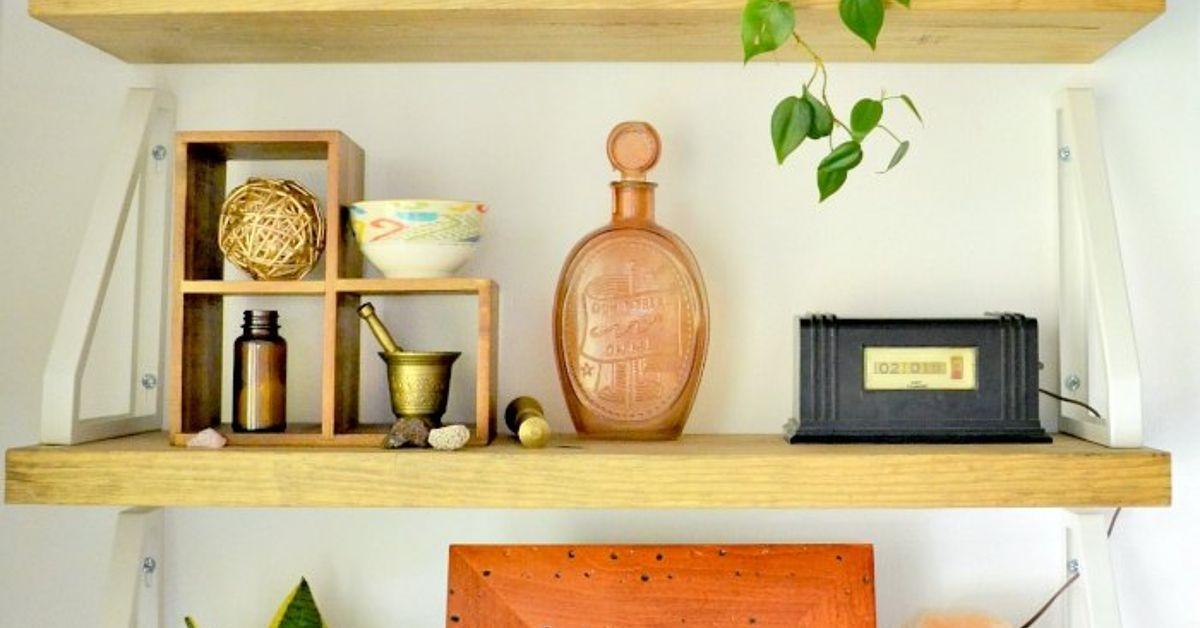 DIY Rustic Boho Shelves | Hometalk
