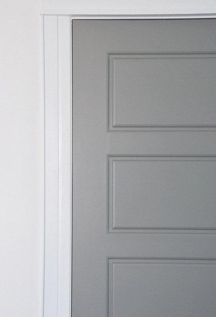 diy gray painted interior doors hometalk