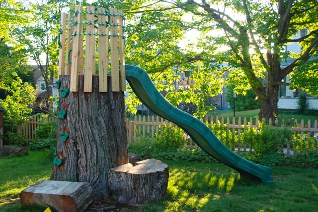 11 pictures of crazy cool uses for tree stumps hometalk for Tree trunk uses
