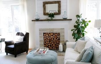 How To Make A Faux Fireplace On The Cheap