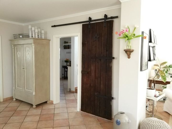 Repurposed Barn Door In The House Hometalk