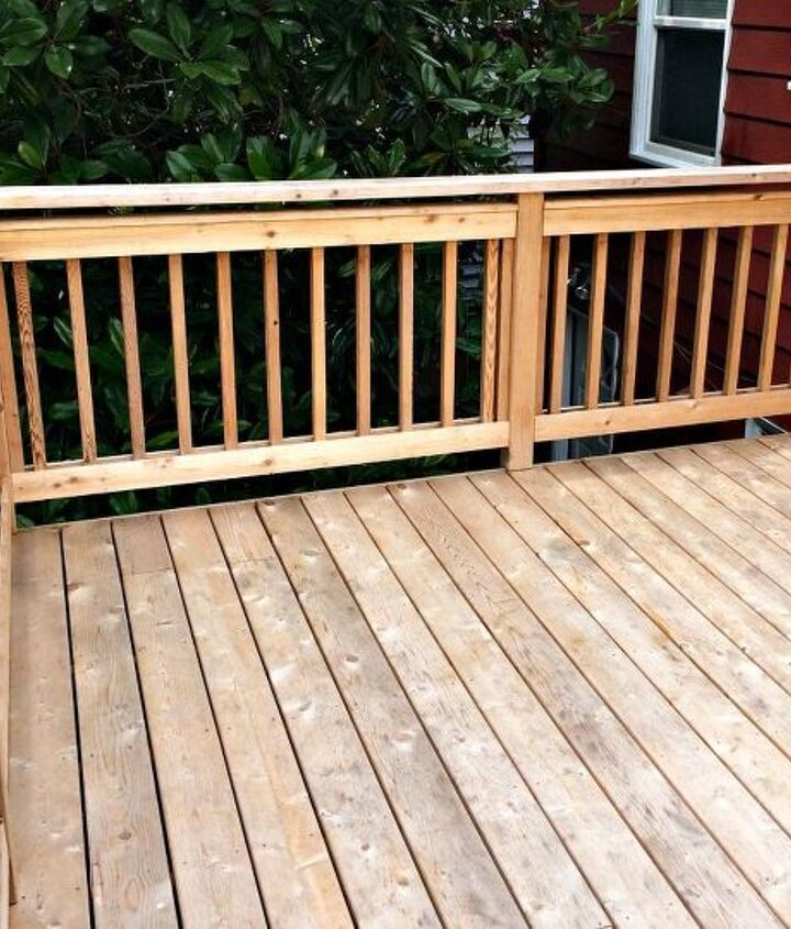 the never ending deck stain project, decks, outdoor living