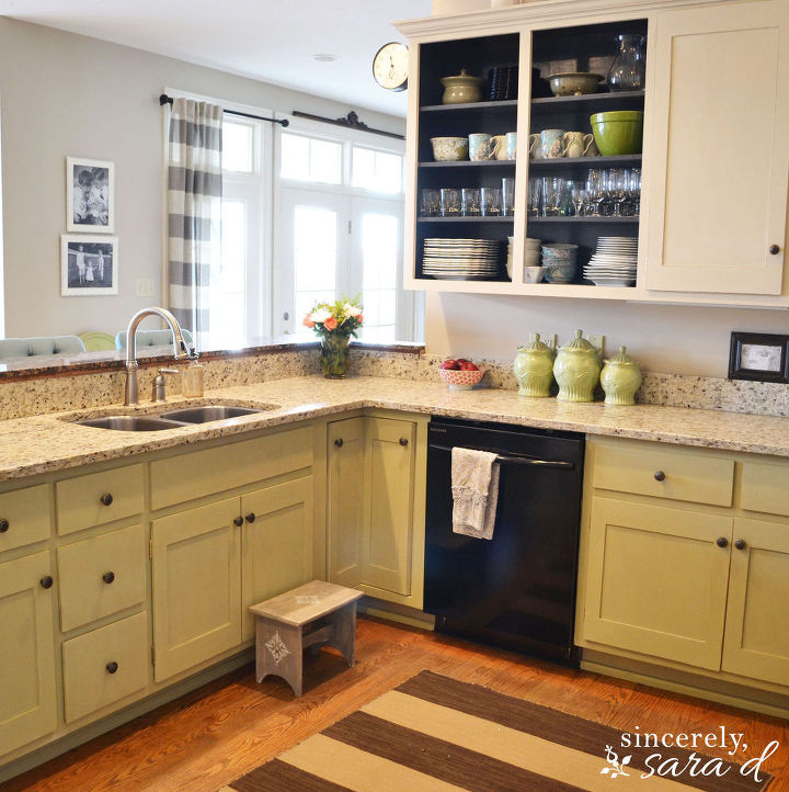 Paint Kitchen Cabinets With Chalk Diy