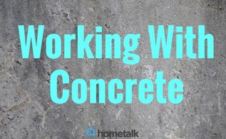 project guide working with concrete, concrete masonry, how to