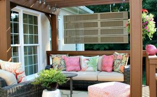 old worn deck transformed to a beautiful outdoor room, decks, outdoor living