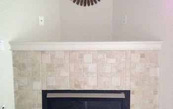 Corner Gas Fireplace Redone