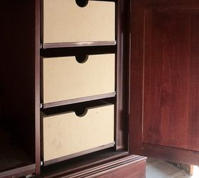 Delicieux Upcycled Media Cabinet Into Armoire, Painted Furniture, Repurposing  Upcycling