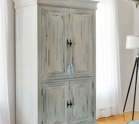 Etonnant Upcycled Media Cabinet Into Armoire, Painted Furniture, Repurposing  Upcycling