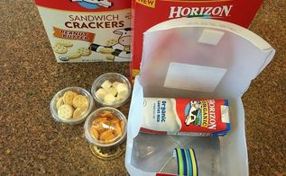 how to make your own lunchbox out of a milk jug, crafts, how to, repurposing upcycling
