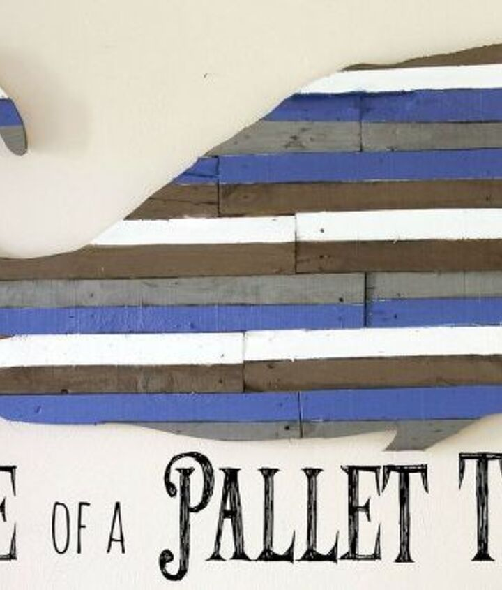 diy pallet whale art, crafts, pallet, repurposing upcycling, wall decor