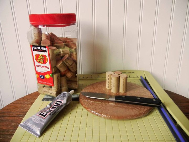 diy wine cork trivet, crafts, how to, repurposing upcycling