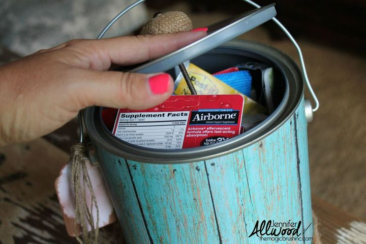 DIY Back to School Buckets (a k a  Brown Nosing Buckets