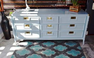 the horrendous stanley dresser makeover, painted furniture, repurposing upcycling