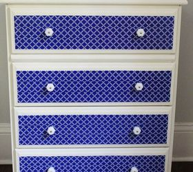 Dresser Makeover With Chalk Paint And Duct Tape, Chalk Paint, Painted  Furniture, Repurposing