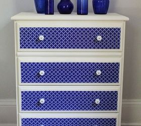 Dresser Makeover With Chalk Paint And Duct Tape, Chalk Paint, Painted  Furniture, ...