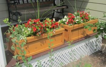 diy flower boxes a fun woodworking project for any skill level, gardening, woodworking projects