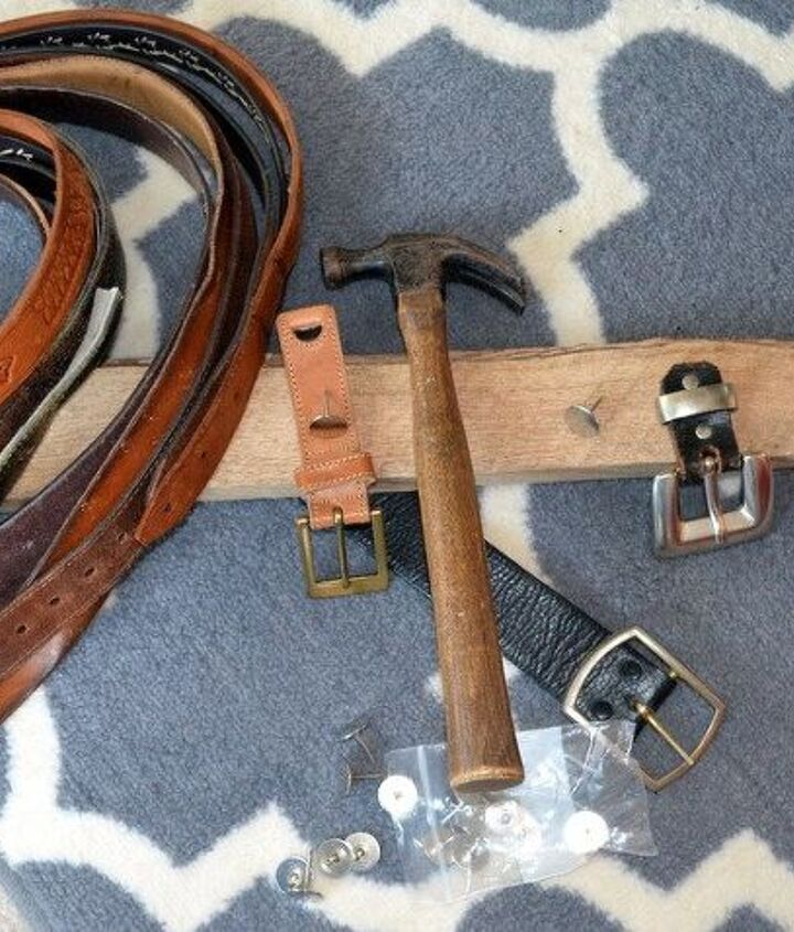 buckle up your necklaces, crafts, how to, organizing, pallet, repurposing upcycling