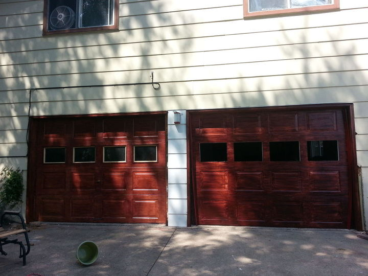 q first time homeowner what where why start where first, curb appeal, flooring, painting, windows, woodworking projects, garage doors after stain