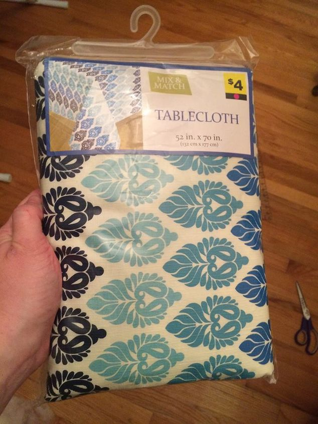 Diy picnic table cloth outdoor pillows garage sale - How to get exterior paint out of clothes ...