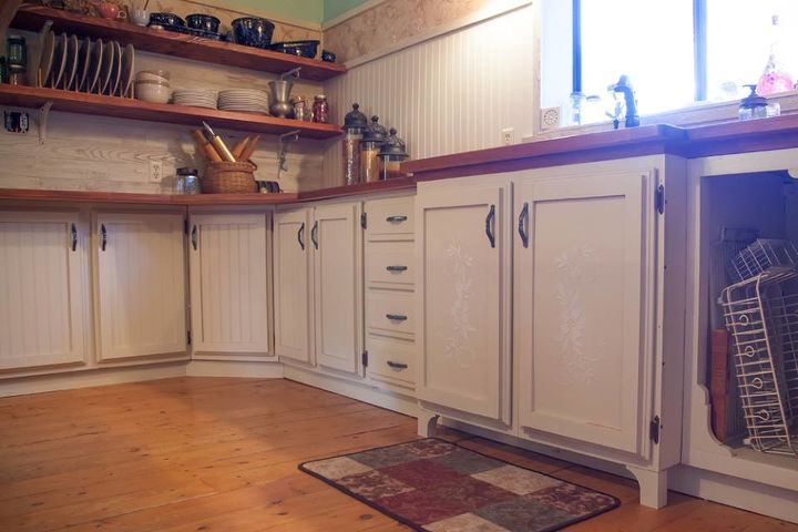 92 year old mountain cabin gets a face lift, diy, home improvement, kitchen design