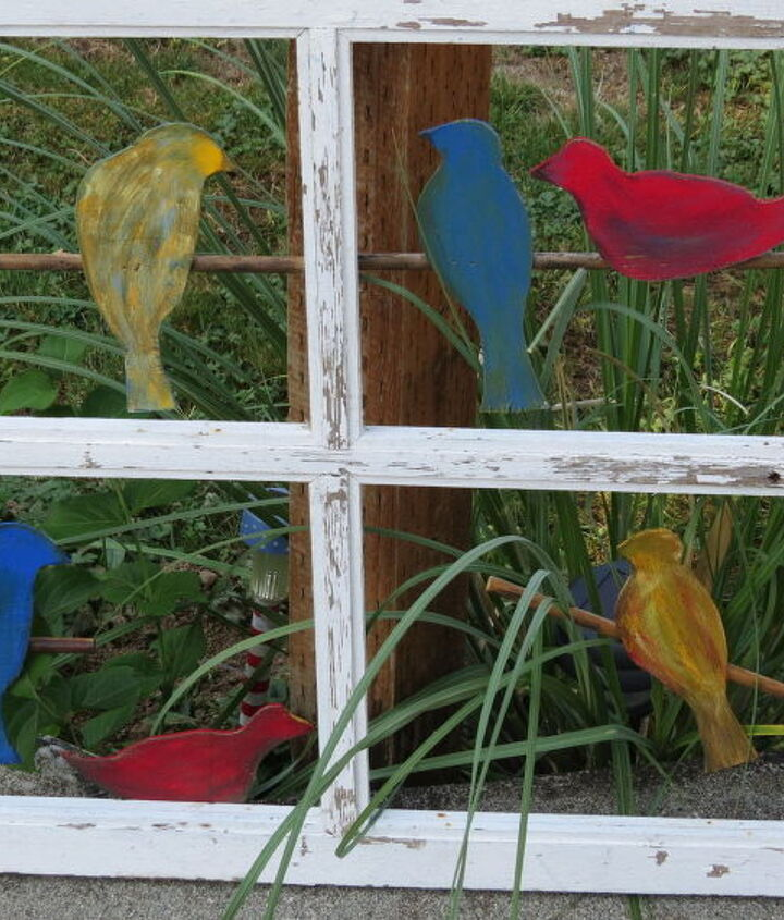 birds on a wire, crafts, repurposing upcycling
