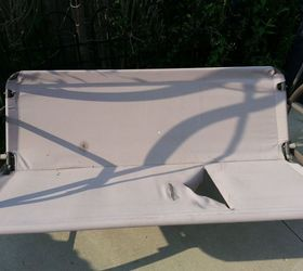 Revamp Patio Garden Swing, Outdoor Furniture, Painted Furniture, Reupholster